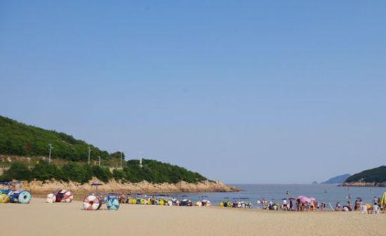 松兰山的沙滩