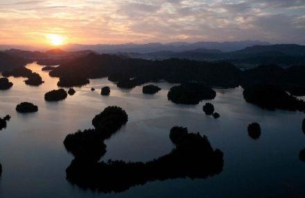 千岛湖黄昏