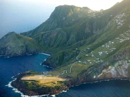荷属安地列斯群岛萨巴岛机场