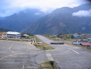 尼泊尔的卢克拉机场
