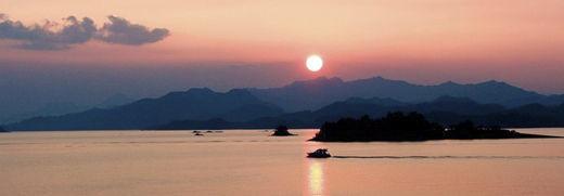 千岛湖日落