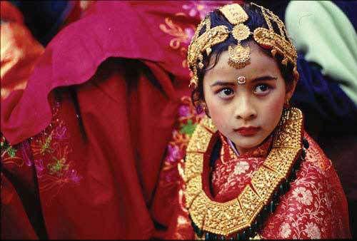 尼泊尔少女