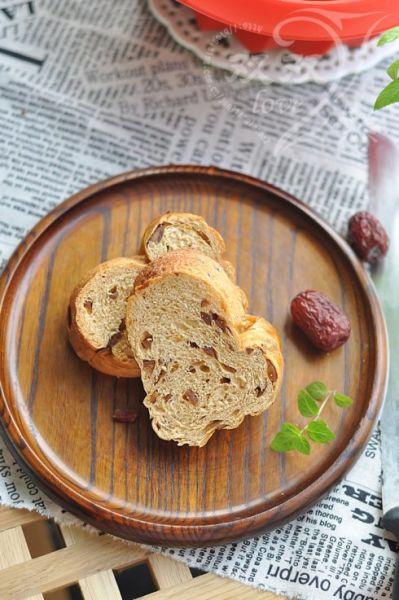 红糖大枣面包