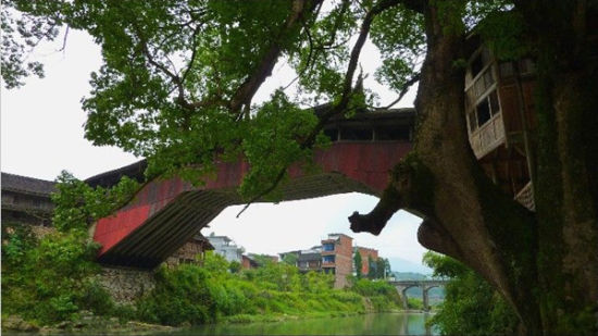 泗溪廊桥文化园