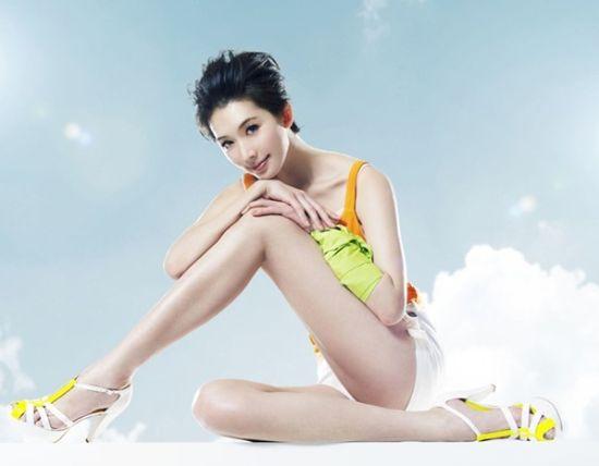 组图:十大美腿女星排行榜出炉林志玲居榜首