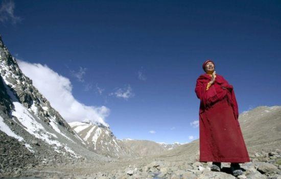 中国西藏凯拉什山朝圣