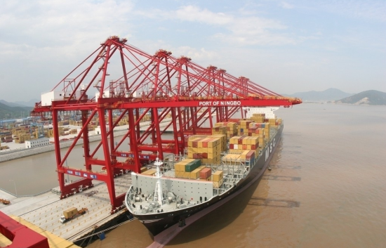 繁荣的宁波港。图片来源网络。