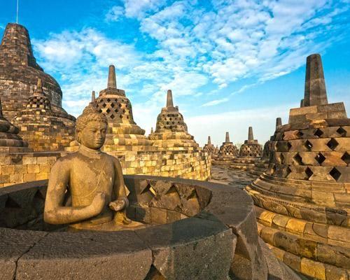 印度尼西亚婆罗浮屠遗址