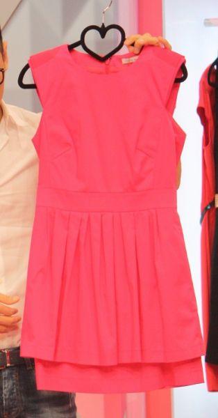 高腰连衣裙