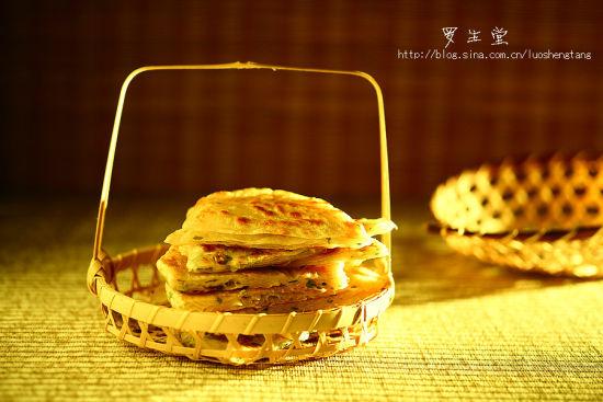 鸡油葱花饼
