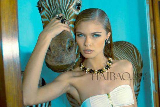 模特:anna rudenko 摄影师:diego diaz marin