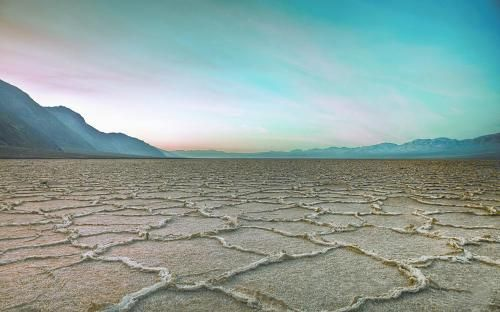 加州死亡谷景观