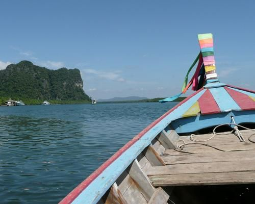 泰国庄省Koh Libong岛海滩