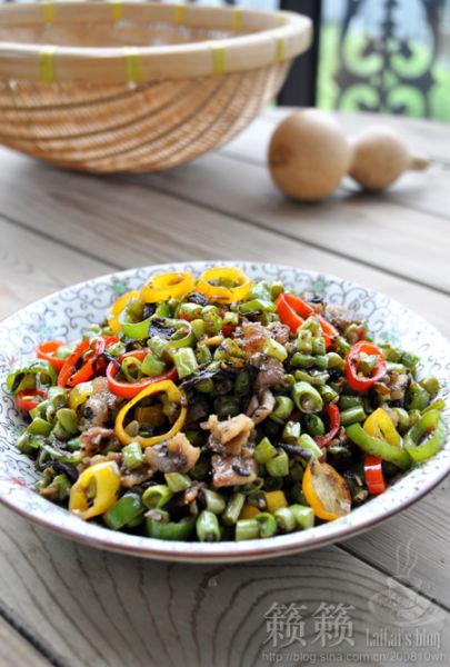 橄菜豇豆碎