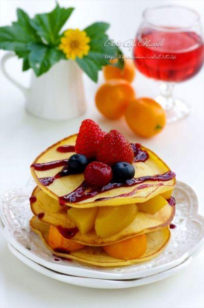 水果小煎饼