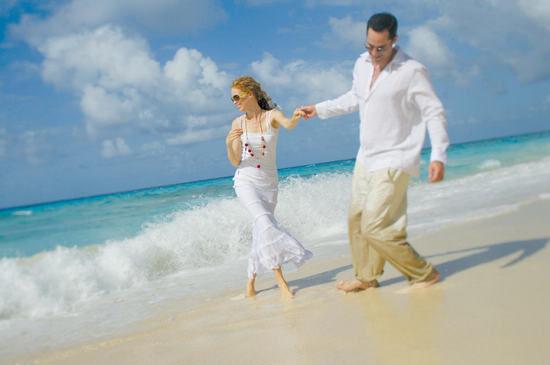沙滩婚礼筹备着装篇