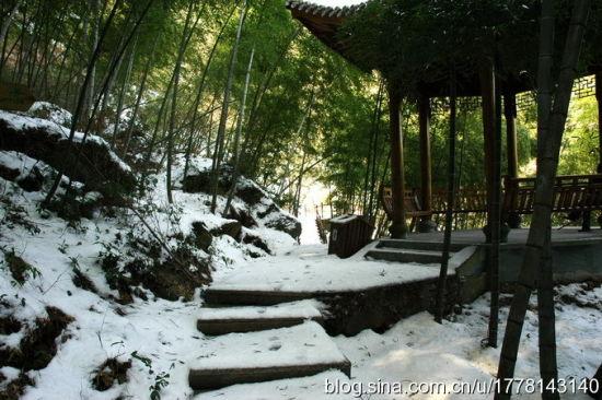 雪中五龙潭 摄影:星空