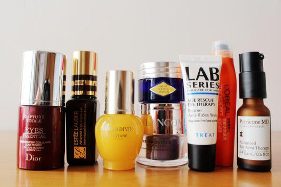 达人晒眼部护理收藏品各类产品效果大检测
