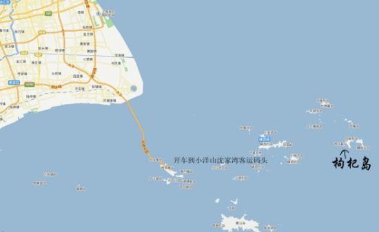 枸杞岛地图