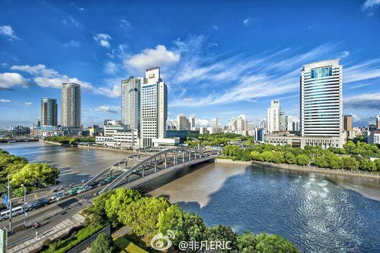 组图:承载历史开启未来宁波灵桥展万种风景