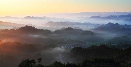 千岛湖 雾霭