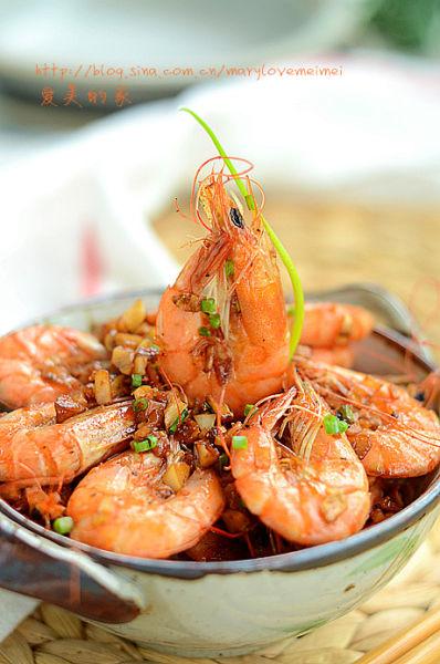 蒜香基尾虾