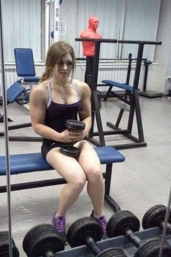 萝莉肌肉女