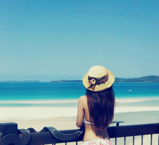 蓝天与大海