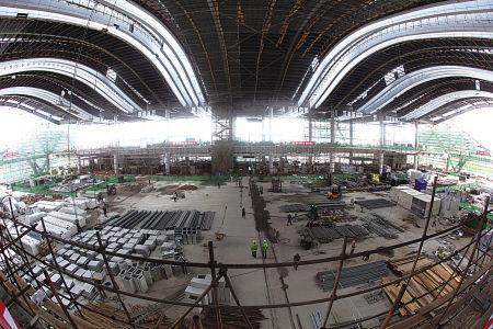 新火车南站年底正式开通运营