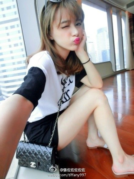 上海美女张佐佐靓照公开