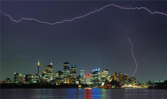 悉尼的天际线