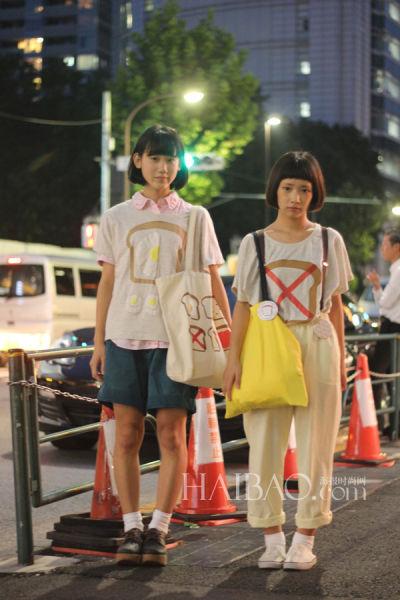组图:日本原宿最新街拍各类穿着惊吓惊喜并存