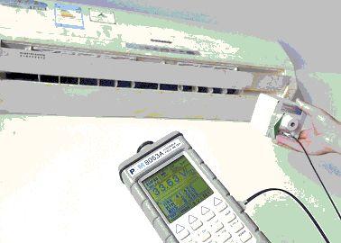 宁波环境监测中心专家测试家用电器辐射
