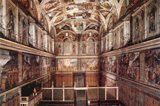 梵蒂冈 西斯廷教堂