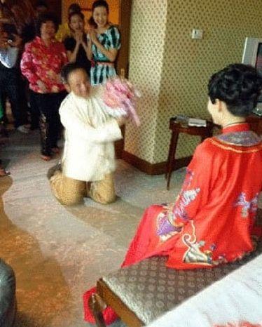 胡静和朱兆祥结婚