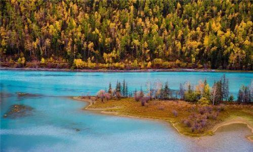 北疆明珠湖光山色