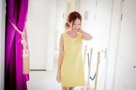 优雅的花苞裙