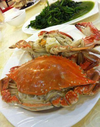 胶东半岛螃蟹