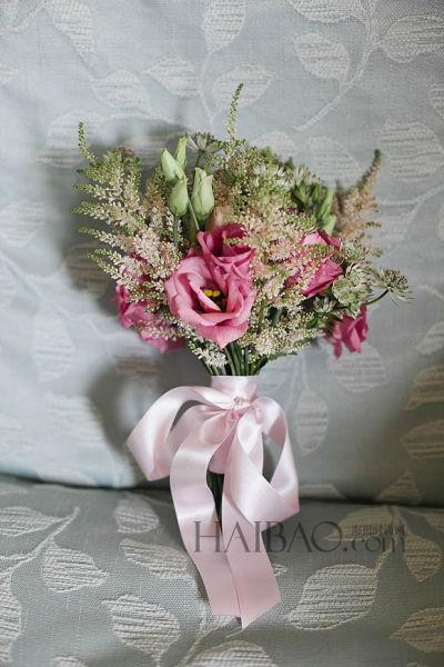 传递幸福的使者秋季婚礼上的新娘捧花一览