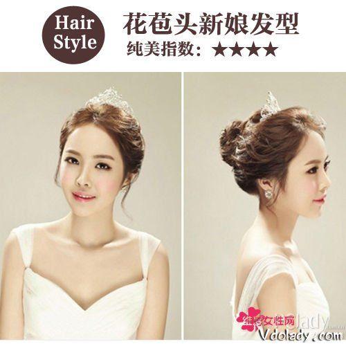 精致短发VS优雅长发 初秋最IN的新娘发型