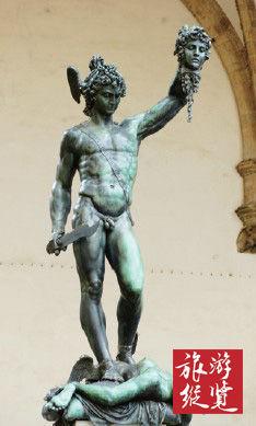 佛罗伦萨街头的雕像