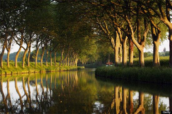 法国米迪运河