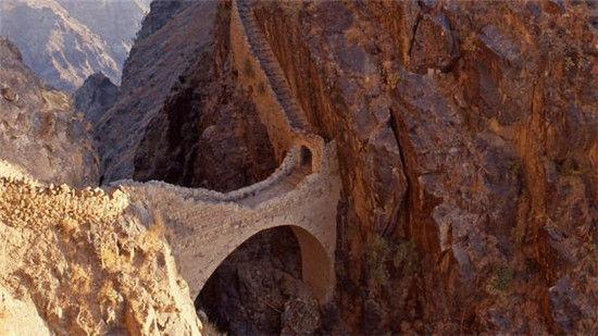 也门的坚韧石桥