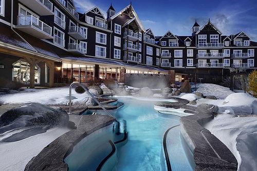 加拿大安大略省的蓝山延龄大厦威斯汀酒店