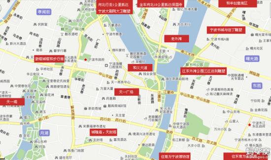 三江口地图