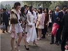 北京600名高三学生圆明园举行成人礼