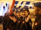 中国首支赴利比里亚维和警察防暴队启程