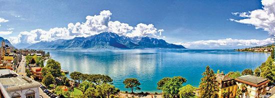 在日内瓦湖畔诗意度假一觉睡到美好年代(组图)