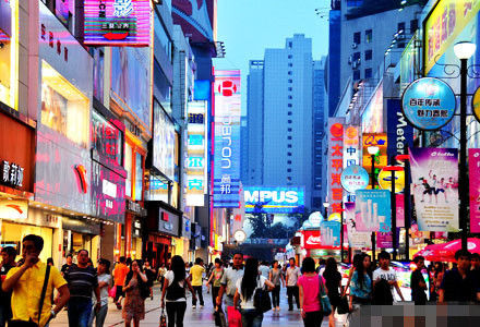 成都 春熙路步行街