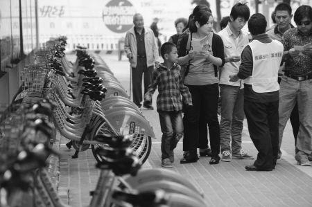 甬城公共自行车上路一个月获市民好评